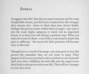 angels, Lang Leav, and words image