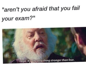 exam, funny, and hope image
