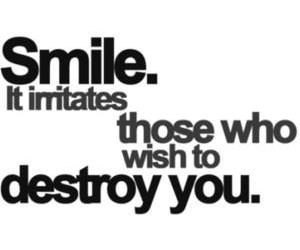 smile, quotes, and text image