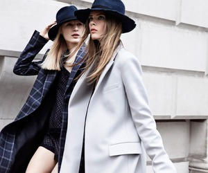 style, Zara, and model image
