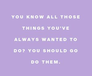 lilac, purple, and quotes image