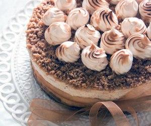 cake, cheesecake, and meringue image