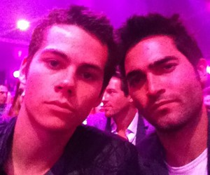 tyler hoechlin, dylan o'brien, and teen wolf image