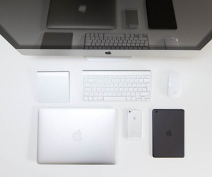 apple, mac, and office image