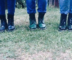 drmartens, friends, and black image