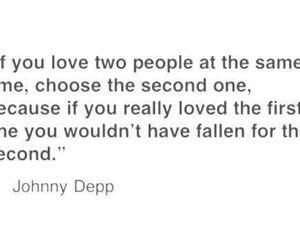 love, quote, and johnny depp image