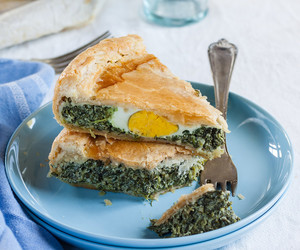 food, green, and pie image
