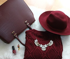 fashion, bag, and hat image