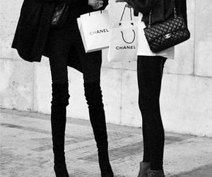 chanel, model, and skinny image