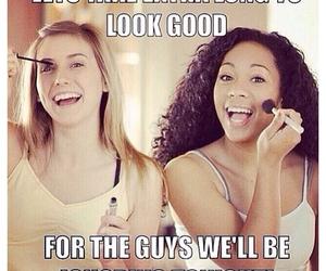 girls, funny, and guys image