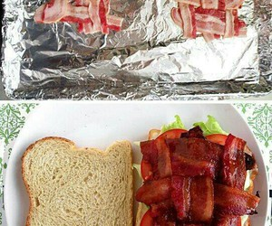 bacon, food, and ideas image