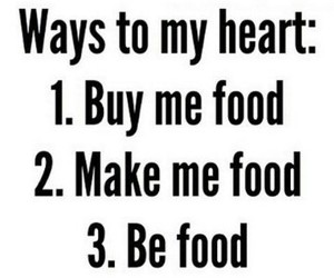 food, heart, and funny image