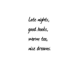 book, Dream, and tea image