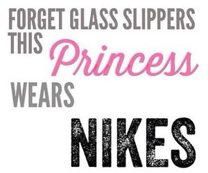 nike, princess, and fitness image