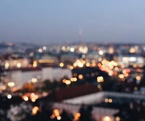 lights, night, and photo image