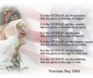 poems, facts, and veterans day quotes image