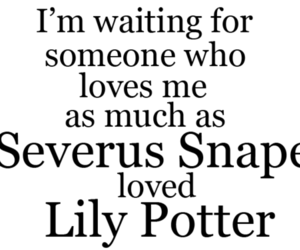 harry potter, love, and severus snape image
