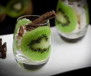 kiwi, chocolate, and food image
