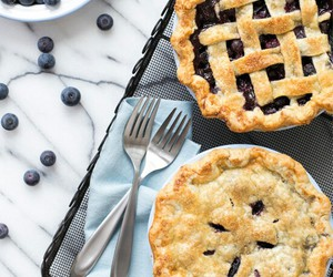 food, berries, and dessert image