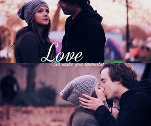 love, if i stay, and book image