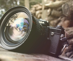 camera, fade, and old image