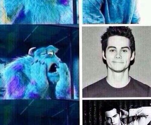 funny, teen wolf, and Hot image