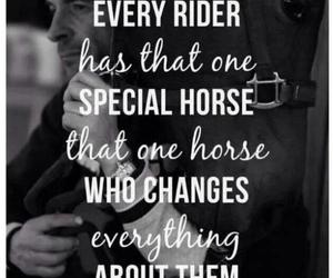 horse, rider, and quotes image
