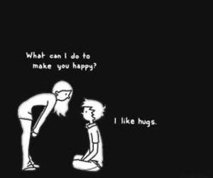 hug, boy, and happy image