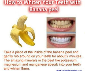 banana, teeth, and tips image