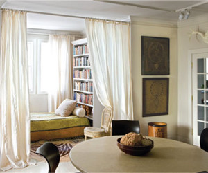 bookcase, books, and hideaway image