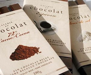 chocolate, food, and cocoa image