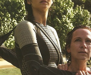 catching fire, wiress, and katniss image