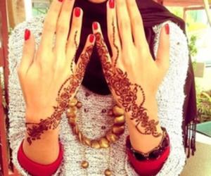 henna and hijab image
