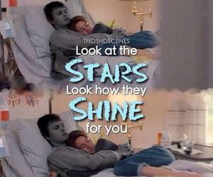 shine, stars, and the fault in our stars image