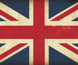 england, flag, and london image