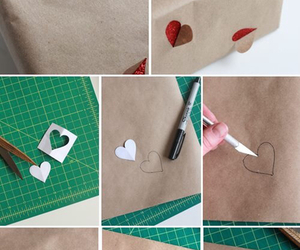 diy, gift, and heart image