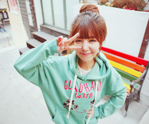 korean, ulzzang, and cute image