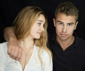couples, divergent, and theo james image
