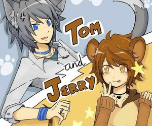 anime and tom and jerry image