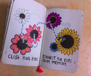 bee, colors, and drawing image