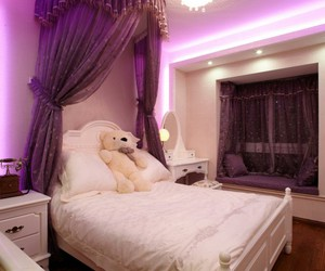 bear, bed, and bedroom image
