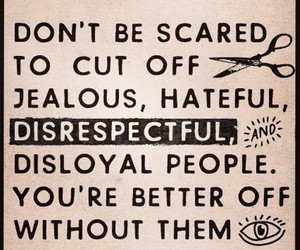 haters, jealous, and disrespectful image