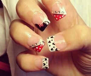 minnie mouse and nails image