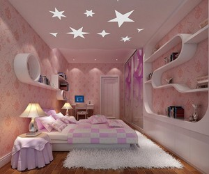 bed, design, and pretty image