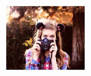 camera, disney, and girl image
