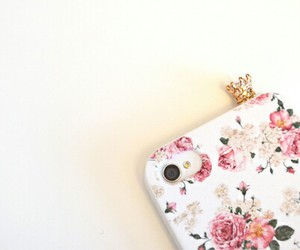 beautiful, case, and flowers image