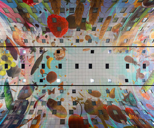 rotterdam and markthal image