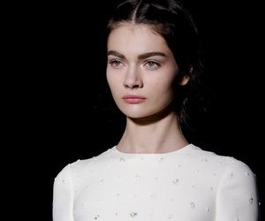 fashion, model, and Valentino image