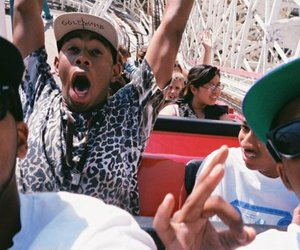 tyler the creator, ofwgkta, and Roller Coaster image