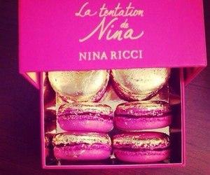 pink, food, and Nina Ricci image